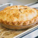Настоящий постный пирог с яблоками