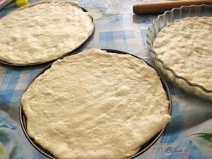 Рецепт дрожжевого теста для пиццы