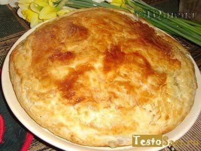 Рецепт хлеба из слоеного теста