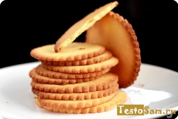 Какая калорийность у песочного печенья