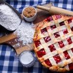 Дрожжевой пирог с брусникой — пошаговый рецепт