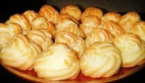 Заварные эклеры — рецепт вкусного десерта