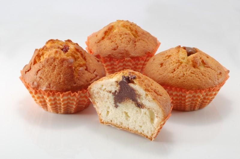 Бисквитные кексы с шоколадом — вкусный рецепт