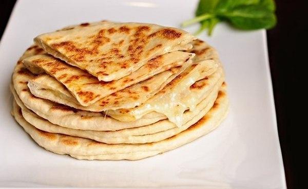 Рецепт хачапури на сковороде