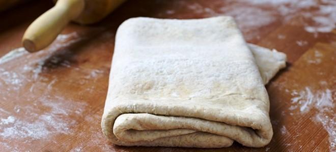 Слоеное бездрожжевое тесто быстрого приготовления