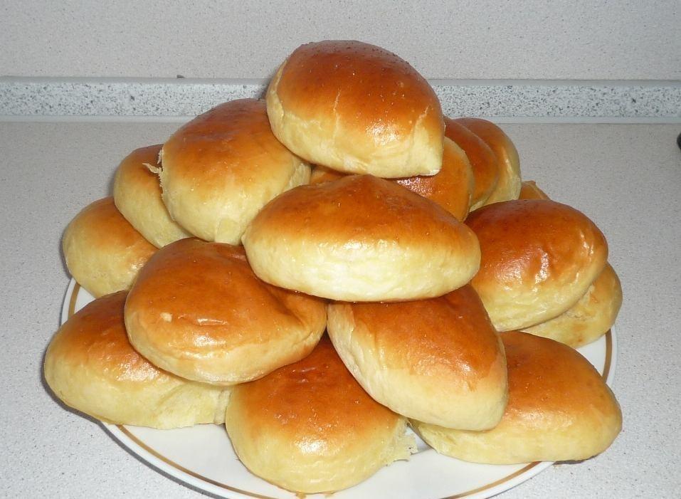 Рецепт дрожжевых пирожков с капустой