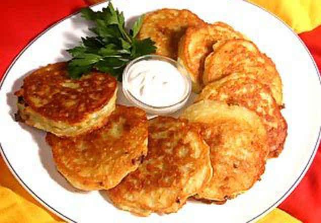 Пошаговый рецепт картофельных драников