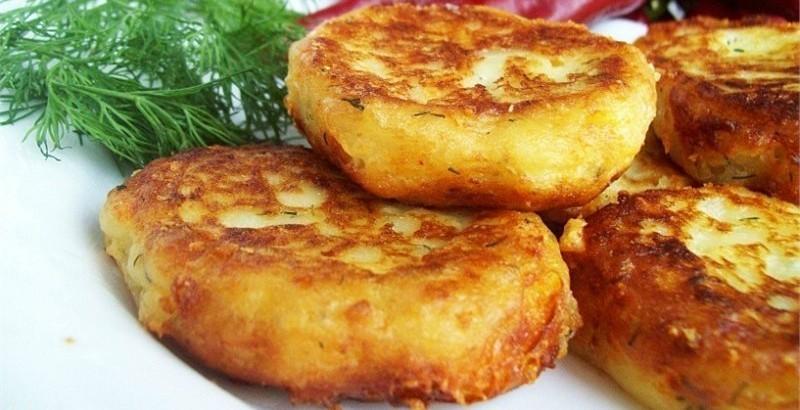 рецепты приготовления картофельных оладьев