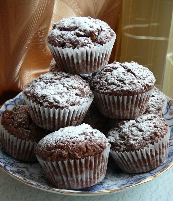Рецепты с фото шоколадные маффины