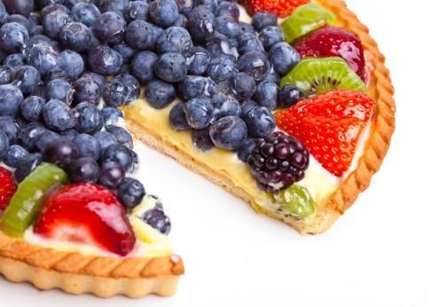 Вкусные пироги с ягодами