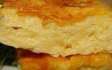 Сырный пирог с куриным фаршем