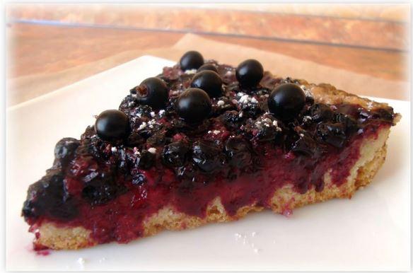 Рецепт торта из песочного теста с ягодами
