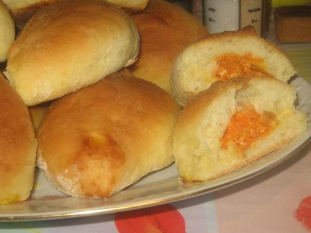 рецепты пирожков в духовке с морковью