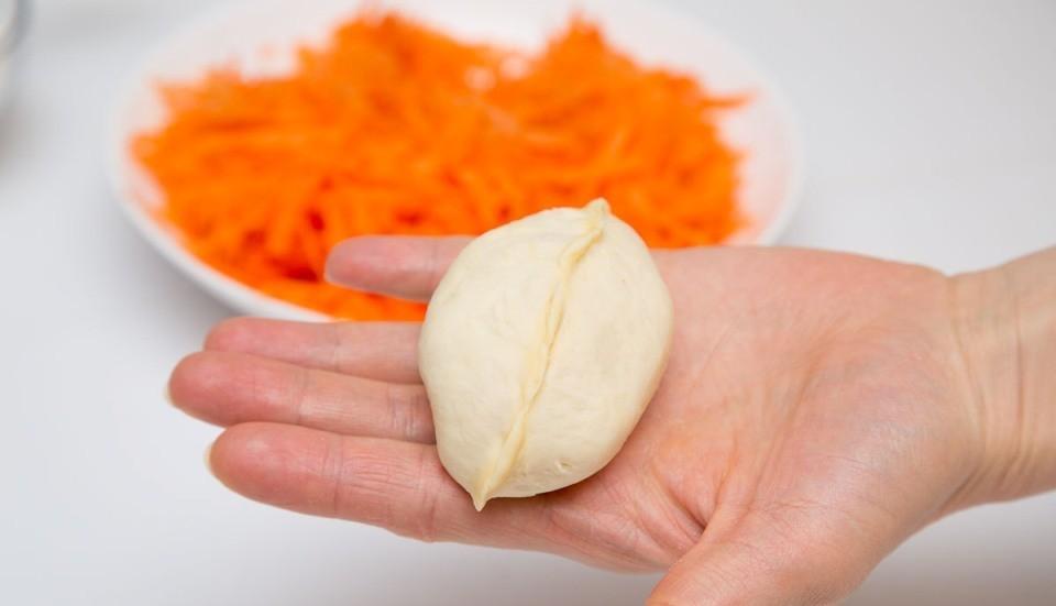 Вкусные пирожки с морковкой
