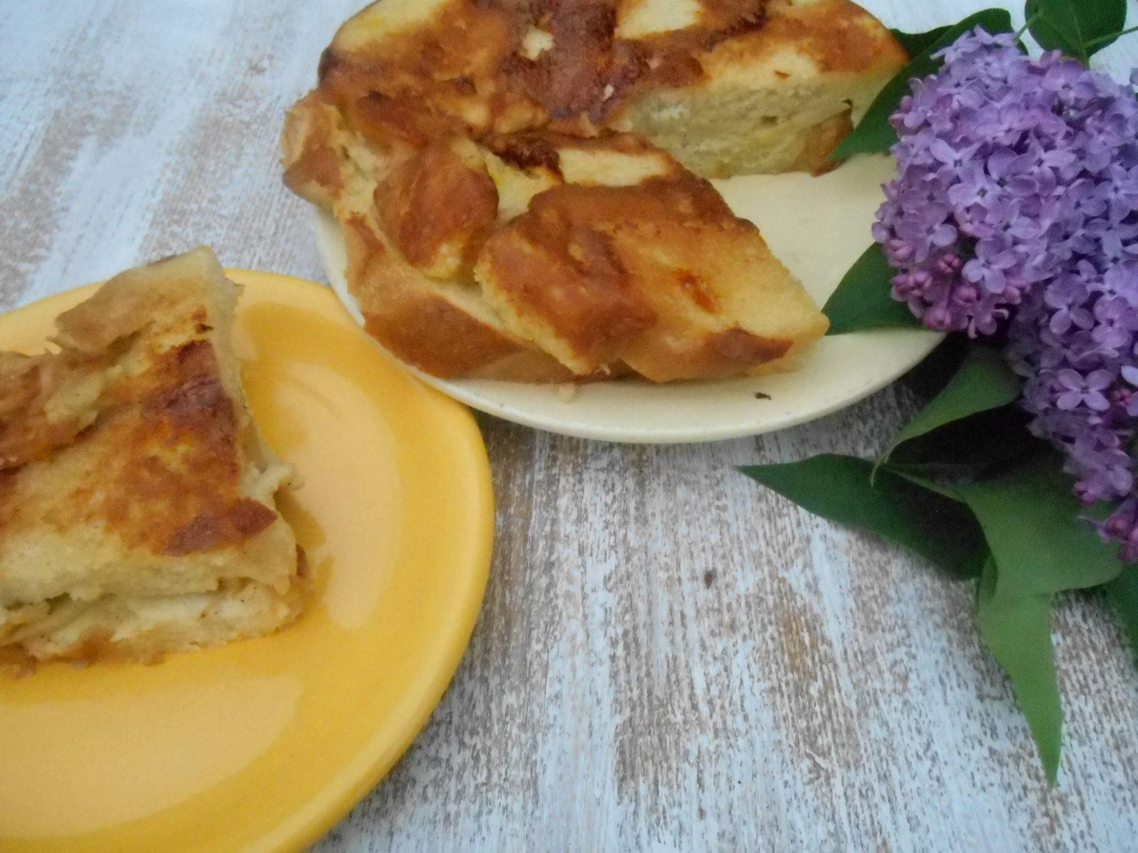 Рецепт французкой шарлотки с яблоками