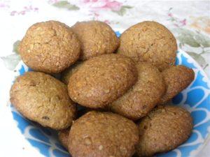 Печенье из овсяных хлопьев и банана