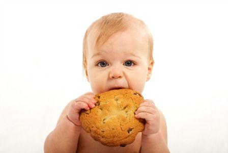 Детское овсяное печенье