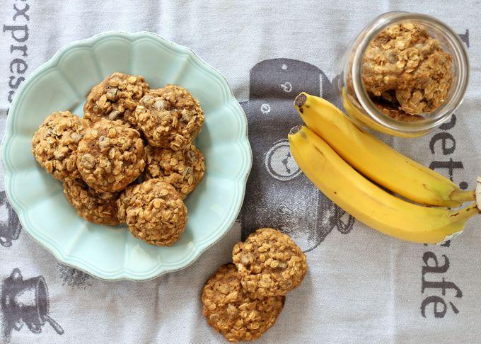 Печенье и финиками без бананом с сахара Овсяное auction