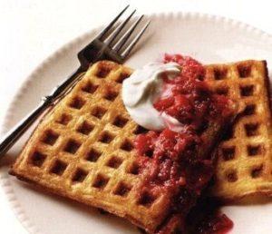 Рецепт вафель для электровафельницы на воде