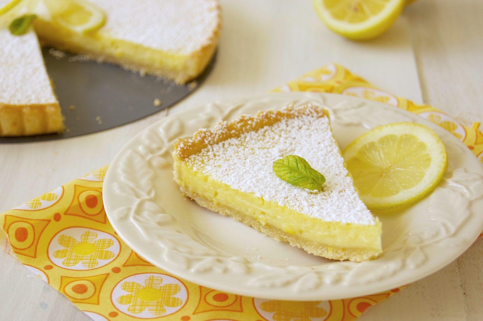 Вкусный творожно-лимонный пирог