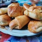 Песочное печенье с абрикосовым джемом